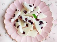 莓果優酪冰磚~簡易版炒酸奶