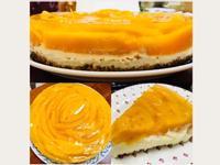 酸甜好滋味:玫瑰造型愛文芒果起司蛋糕