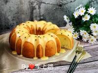 百香果糖霜海綿蛋糕(8吋、全蛋打發)
