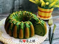 抹茶蜂蜜海綿蛋糕(無油配方、全蛋打發)