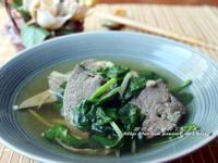 補血料理~菠菜豬肝湯