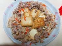 雞蛋豆腐金菇燒🍜