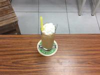 榛果咖啡冰沙