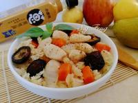 蔥油香菇雞肉炊飯(電鍋版)