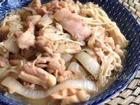 蠔油嫩雞炒金針菇【便當菜】