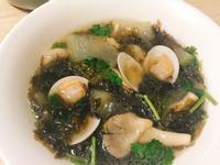 紫菜鮮菇蛤蜊湯