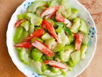 蟹味棒炒絲瓜