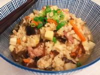 香菇筍丁糙米粥