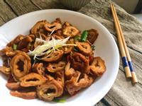 下飯菜~辣炒滷大腸頭