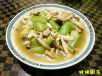 鮮菇燴絲瓜