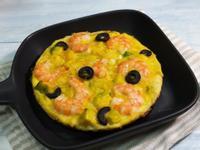 酪梨鮮蝦烘蛋-快速低醣早午餐