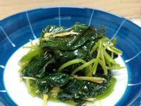 古早味薑絲清炒地瓜葉~水油蒸氣炒低油料理