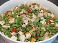 長豆豆乾炒肉燥~一鍋到底家常低油料理