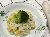 簡易無油蔬食燉飯(奶蛋素)