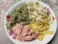 親子料理 - 手工彩色麵