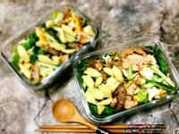 低碳減肥餐 孜然肉片。溫沙拉
