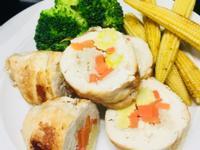 雞胸蔬菜卷