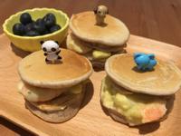 【寶寶食譜】鮮蝦酪梨鬆餅堡