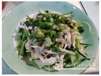 蔥油雞絲(定溫雞胸肉料理)