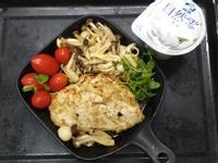優酪香料雞排佐雙菇~低醣低卡少油烤箱料理