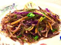 涼拌胡蘿蔔高麗菜粉絲