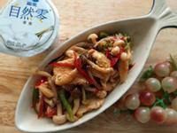 辣味韓風烤肉醬蕈菇雞胸~低醣油優酪下酒菜