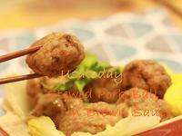 【東煮】淮揚菜系的代表菜 - 白菜獅子頭 Stewed pork Ball in Brown Sauce