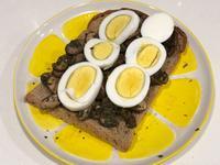 青醬蘑菇雞蛋土司
