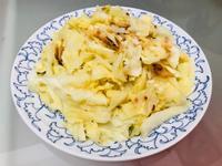 桌上那道家常菜:櫻花蝦炒高麗菜