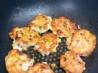 雞胸肉玉米煎餅