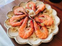 鮮蝦白酒蛤蜊蝴蝶義大利麵