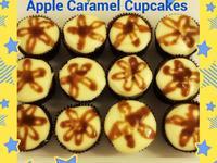 蛋糕天后 - 焦糖蘋果杯子蛋糕