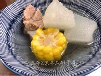 昆布玉米冬瓜排骨湯【低卡】