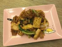 木須雞蛋豆腐炒餅