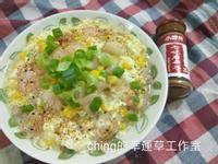 十分鐘上菜-玉米蝦仁滑蛋