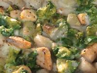 滋味牛油果三文魚帶子焗飯