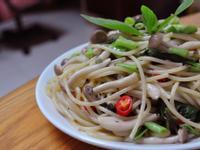 好菇道--鴻喜菇義大利麵