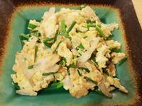 韭菜花洋蔥蛋