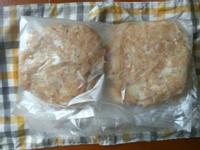自製冷凍漢堡豬肉丸