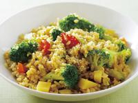咖哩花椰菜燉飯