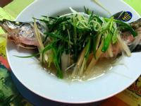 清蒸金目鱸魚🐟