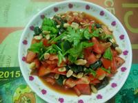 泰式風味🍅涼拌番茄炸皮蛋