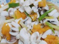 黃椒炒花枝