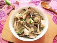 鮮美蛤蜊菇菇味噌湯【好菇道親子食光】