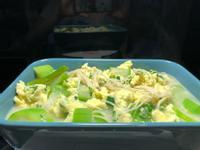 絲瓜燴蔥蛋