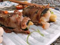 海苔野菜牛肉捲【好菇道親子食光】