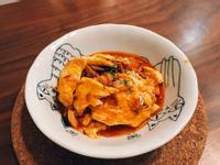 茄汁鯖魚炒蛋。 快速上桌❤️