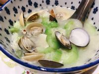 絲瓜蛤蠣湯
