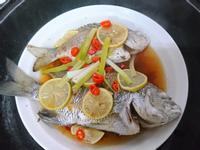 簡易蒸檸檬魚