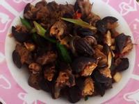 辣炒蝸牛肉